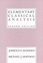 Elementary Classical Analysis - Jerrold E. Marsden