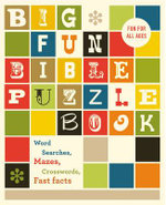 Big Fun Bible Puzzle Book - Zondervan