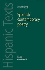 Spanish contemporary poetry : An anthology