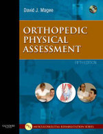 Orthopedic Physical Assessment : Orthopedic Physical Assessment (Magee) - David J. Magee