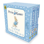 Peter Rabbit My First Little Library : 4 Chunky Boardbooks in a Slipcase : Words, Numbers, Shapes & Colours - Beatrix Potter