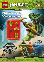 LEGO Ninjago : Ninja vs Venomari : Activity Book with Minifigure - Ladybird