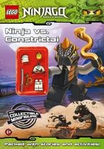 LEGO Ninjago : Ninja vs Constrictai : Activity Book with Minifigure - Ladybird