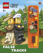 LEGO CITY : False Tracks : Storybook with Minifigures and Accessories - Unknown