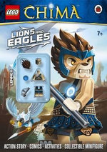 LEGO Legends of Chima : Lions and Eagles : Action Story - Comics - Activities - Collectible Minifigure - Unknown