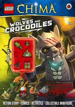 LEGO Legends of Chima : Wolves and Crocodiles Activity Book with Minifigure - DK Publishing