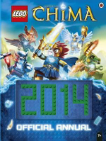 LEGO Legends of Chima Official Annual 2014 - Ladybird