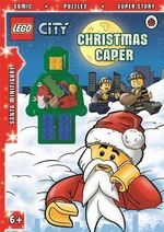 LEGO CITY : Christmas Caper Activity Book with Minifigure - Ladybird