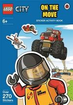 Lego City : On The Move Sticker Activity Book - Ladybird