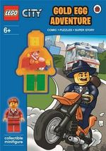 LEGO City : Gold Egg Adventure Activity Book with Minifigure - Ladybird