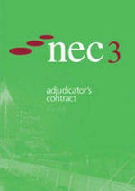 Nec3 : Adjudicator#39;s Contract :  Adjudicator's Contract - NEC
