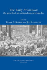 The Early Britannica - Frank A. Kafker