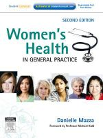 Women's Health in General Practice - Danielle Mazza