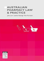 Australian Pharmacy Law and Practice - Laetitia Hattingh