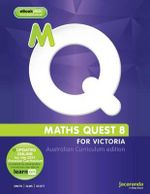 Maths Quest 8 Australian Curriculum Victorian Edition & eBookPLUS - Nanny Smith