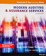 Modern Auditing and Assurance Services 6E Wiley E-text : Powered By Vitalsource with Istudy Card - Philomena Leung