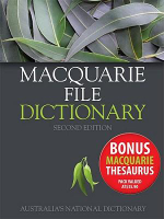 Macquarie File Dictionary 2E + Macquarie File Thesaurus Value Pack : Macquarie Series - Macquarie