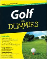 Golf for Dummies : 2nd Australian and New Zealand Edition - Gary McCord