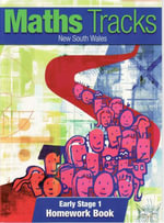 Maths Tracks New South Wales (NSW) Early Stage 1 : Homework Book - Pearson Education Australia