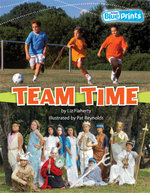Team Time : Rigby Blueprints Middle Primary A Unit 4 Forever Friends - Flaherty