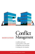Conflict Management : AIM Business Tools Series - Baden Eunson