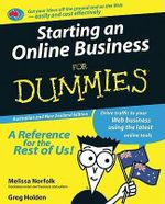 Starting An Online Business For Dummies : Australian and New Zealand Edition - Melissa Norfolk