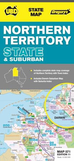 UBD Gregorys Northern Territory State and Suburban Map 571 11th : All-weather Guide to London - UBD Gregorys