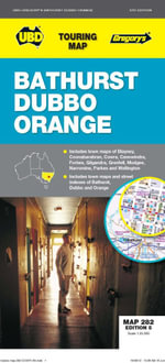 UBD-GRE Bathurst Orange Dubbo Map 282 - UBD-GREGORYS