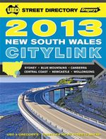 UBD Gregorys 2013 NSW CityLink Street Directory : 24th Edition - UBD Gregorys