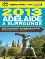 UBD Gregory's Adelaide & Surrounds Street Directory 2013 - UBD Gregorys