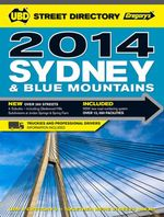 UBD Gregorys Sydney Street Directory 49th 2014 - UBD Gregorys