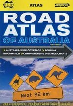 UBD Gregorys Road Atlas of Australia  : 4th Edition - UBD Gregorys