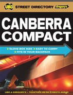 Canberra Compact Street Directory 2015 - UBD Gregorys
