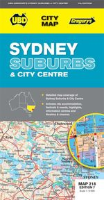 Sydney Suburbs and City Map 218 - UBD Gregorys