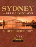 Sydney Street Directory : 50th Commemorative Edition - UBD Gregorys