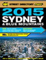 Sydney Street Directory 51st 2015 - UBD Gregorys