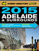 Adelaide Street Directory 53rd 2015 - UBD Gregorys