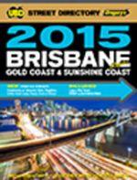 Brisbane Street Directory Refidex 59th 2015 - UBD Gregorys