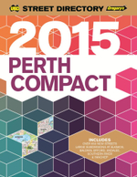 UBD Gregory's 2015 Compact Street Directory : Perth - UBD Gregorys