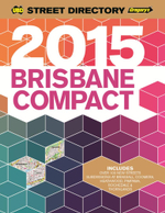 UBD Gregory's 2015 Compact Street Directory : Brisbane - UBD Gregorys