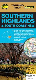 Southern Highlands South Coast NSW Map 283/298  - UBD Gregorys