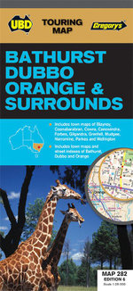 Bathurst Dubbo Orange and Surrounds Map 282 6th - UBD Gregorys