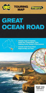 Great Ocean Road Map 308  : 5th Edition - UBD Gregorys