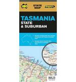 Tasmania State and Suburban Map 770 25th - UBD Gregorys