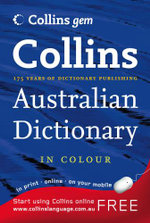 Collins Gem Australian Dictionary - Collins