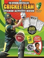 The Official Australian Cricket Team Sticker Activity Book - Cricket Australia