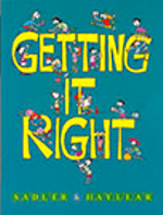 Getting it Right : For junior and middle secondary students - Rex K. Sadler