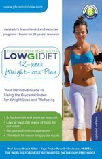 Low GI Diet 12-week Weight-loss Plan - Jennie Brand-Miller