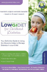 Low GI Guide for Childhood Diabetes - Jennie Brand-Miller