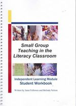 Small Group Teaching in the Literacy Classroom : Independent Learning Module Student Workbook - Janet Fellowes